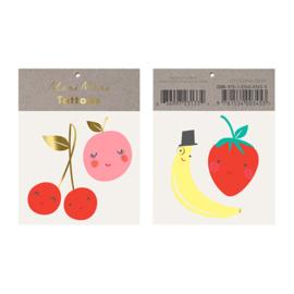 Meri Meri • tattoos happy fruit