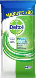Dettol reinigingsdoekjes Power & Fresh