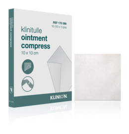 Klinitulle ointment compress 10x10