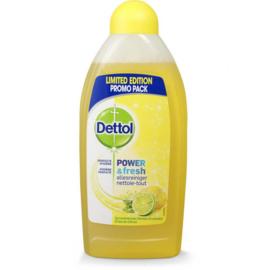 Dettol power en fresh 500 ml citroen & limoen