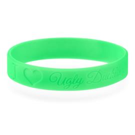 "Armband ""I ♥ UD"" Neon Green"