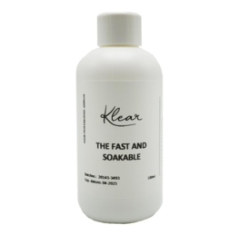 Klear the fast and soakable