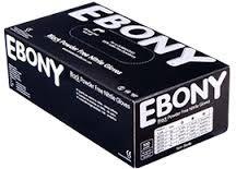 Nitril handschoenen EBONY poedervrij zwart extra dik