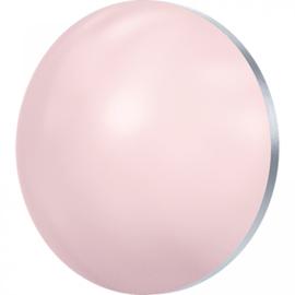 Crystal Rosaline Pearl half rond