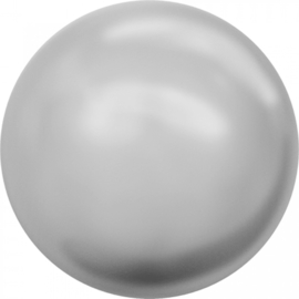 Crystal Light Grey Pearl rond