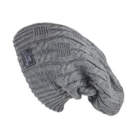 Slouchy Hat Grijs Wintermuts