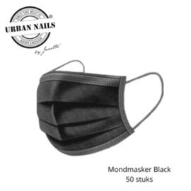 MONDMASKER BLACK (50 STUKS)