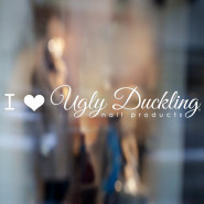 Ugly Duckling Sticker I Love Ugly Duckling