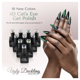 Previous Next Gel Polish # 4D Cat Eye Collection met gratis magneet!
