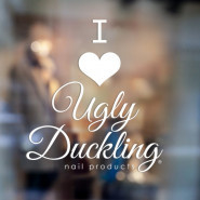Ugly Duckling Sticker I love UD