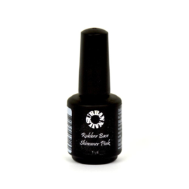 Rubberbase Shimmer Pink 15 ml
