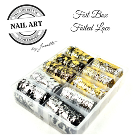 Pure Foil - Foiled Lace Box