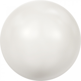 Crystal White Pearl rond