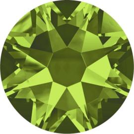 Swarovski Olivine - platte achterkant