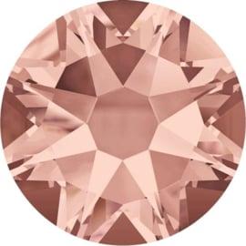 Swarovski Blush Rose - platte achterkant