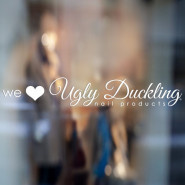 Ugly Duckling Sticker We Love UD