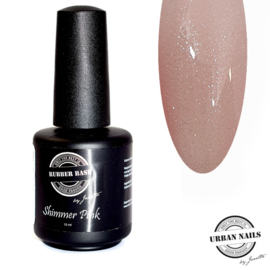 Rubberbase Shimmer Pink Silver 15 ml