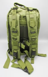 Survival-Tools - Backpack made of sturdy nylon, splash-proof - army green