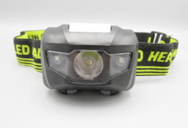 YYEDC - LED headlight - LED lamp for the head, black - yellow