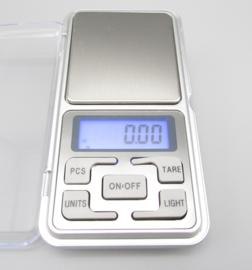 Pocket Scale MH-500, weegschaal, weegt tot 2 cijfers achter de komma