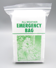 All weather emergency bag - emergency sleeping bag made of aluminum foil