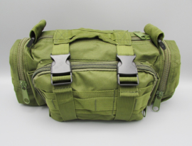 Survival-Tools - Draagtas van stevig nylon, spatwaterdicht - legergroen