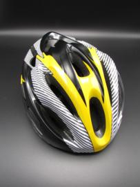 Bicycle helmet - yellow