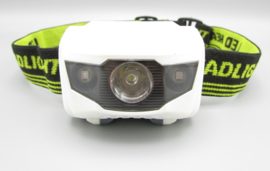 YYEDC - LED headlight - LED lamp for the head, green - white