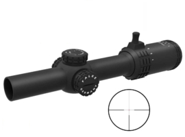 Falke rifle / shotgun scope 1-6x24