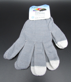 Dames handschoenen - touch gloves - grijs