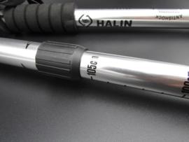 Halin - Nordic walking - wandelstok, zilverkleurig - 110cm - set