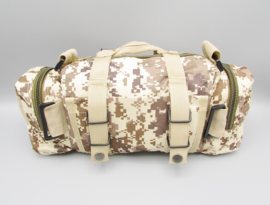 Survival-Tools - Carrying bag made of sturdy nylon, splash-proof - Desert camo colors, no.2