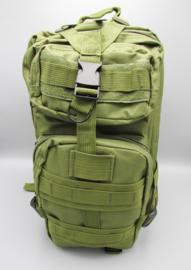 Survival-Tools - Rugtas van stevig nylon, spatwaterdicht - legergroen