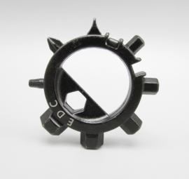 EDC gear - Multitool ring zwart