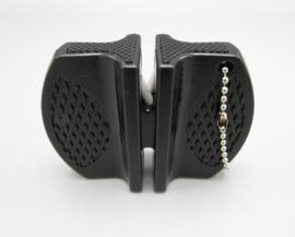 Outad messenslijper - Metaal & keramisch - kleur: zwart