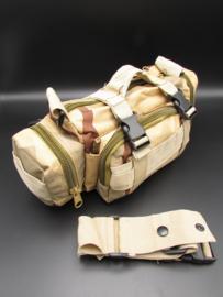 Survival-Tools - Draagtas van stevig nylon, spatwaterdicht - Woestijn-camokleuren, nr.1
