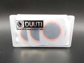 Duuti - fietsbandenplakset
