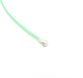 Stainless steel wire chain - groen