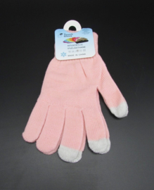 Dames handschoenen - touch gloves - roze