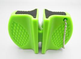 Outad messenslijper - Metaal & keramisch - kleur: groen