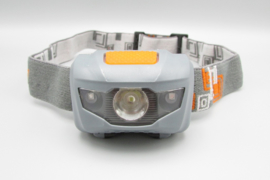 YYEDC - LED headlight - LED lamp for the head, gray