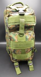 Survival-Tools - Rugtas van stevig nylon, spatwaterdicht - camouflage kleuren, nr.1