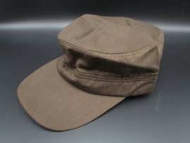 Cap in de kleur bruin