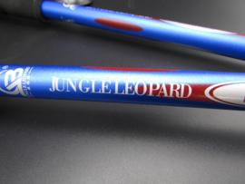 Jungle Leopard - Nordic Walking - Gehstock, blau - 125cm