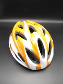Bicycle helmet - orange