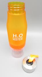 Mingli 54520 Feldflasche mit Zitronenpresse - 650ML - Orange