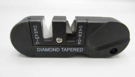 Survival-Tool keramisch, staal & diamantslijper voor messen