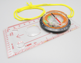 Robesbon Liquid filled map compass - kompas