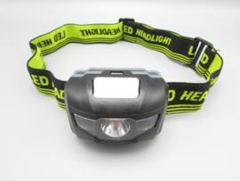 YYEDC - LED headlight - LED lamp for the head, black - yellow