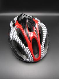 Bicycle helmet - red